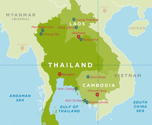 Laos Thailand Cambodia Trip 40 Days Free Easy Traveler