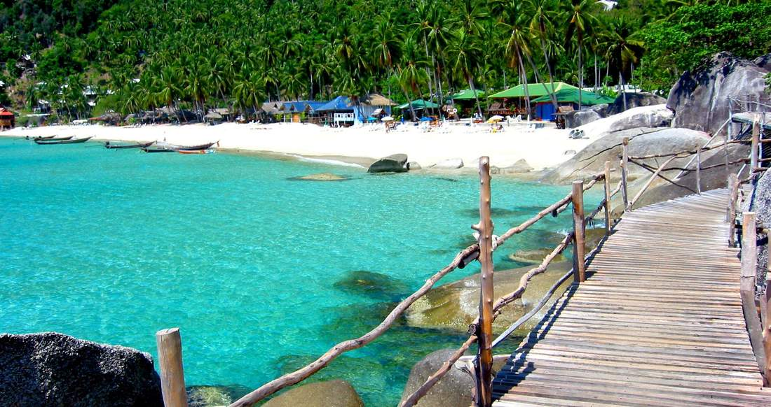 beach beautiful thailand yoga