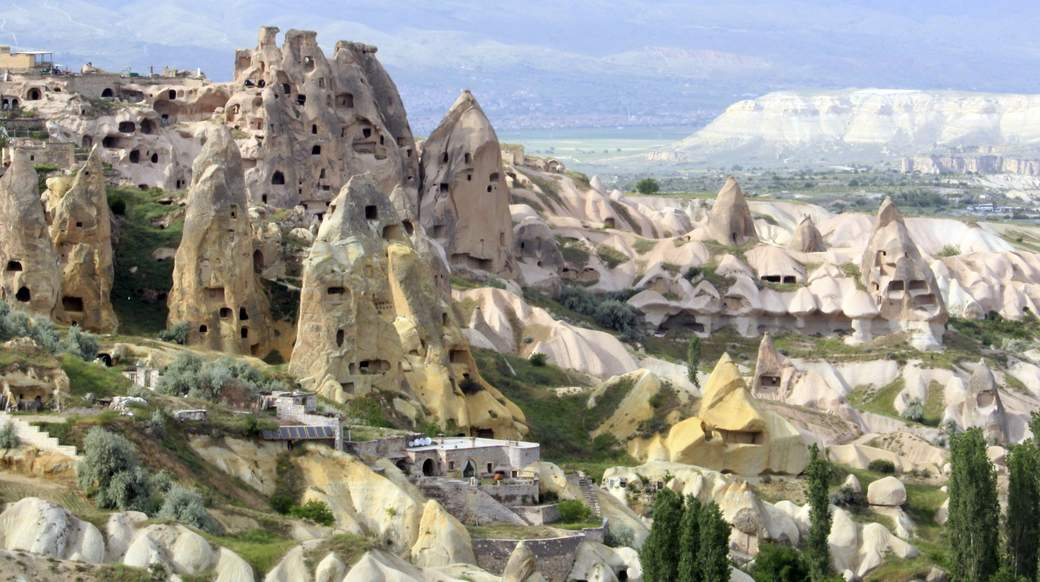 the cave city of cappadocia turkey