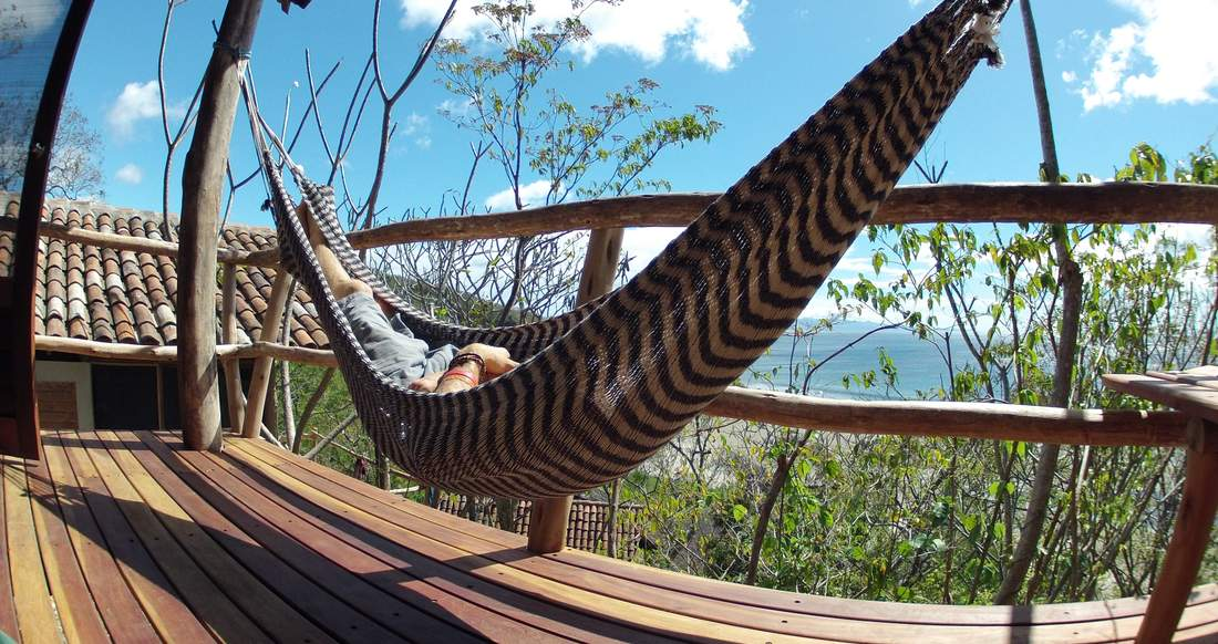 hammock chill beach yoga