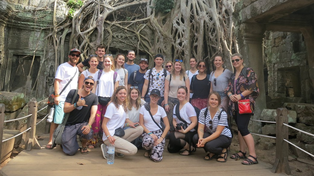 cambodia group tour