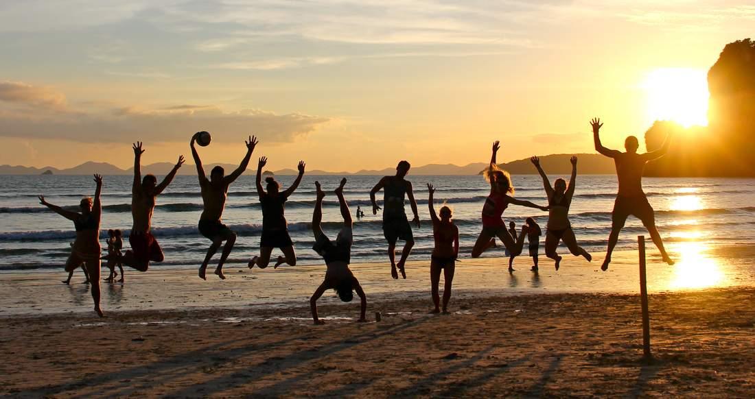 escameca group sunset shot in nicaragua surf