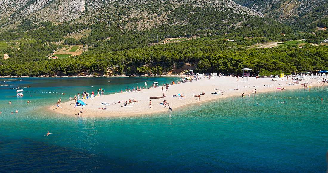 beach croatia travel