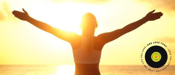 yoga, sunset, stretch