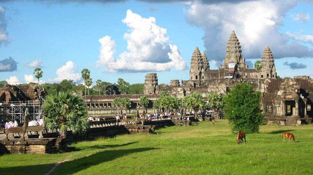 Beautiful Angkor Wat in Cambodia