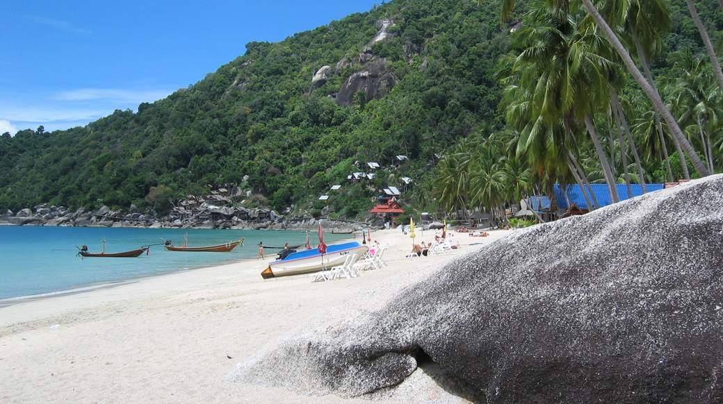 Haad Yuan beach in southern Thailand