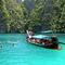 longtail boat in koh phi phi thailand