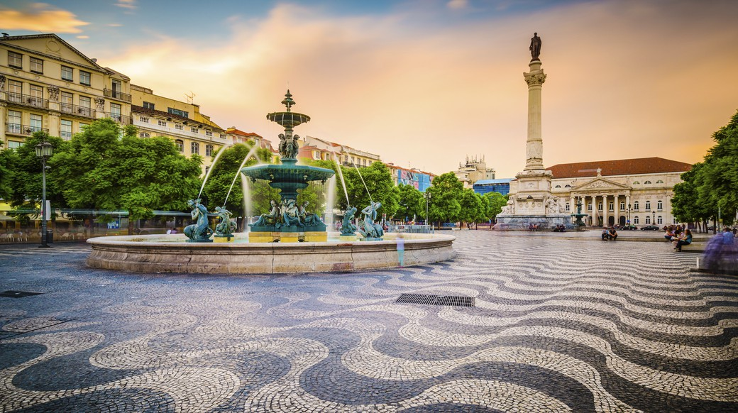 view of the lisbon square