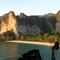 Railay beach viewpoint in Thailand