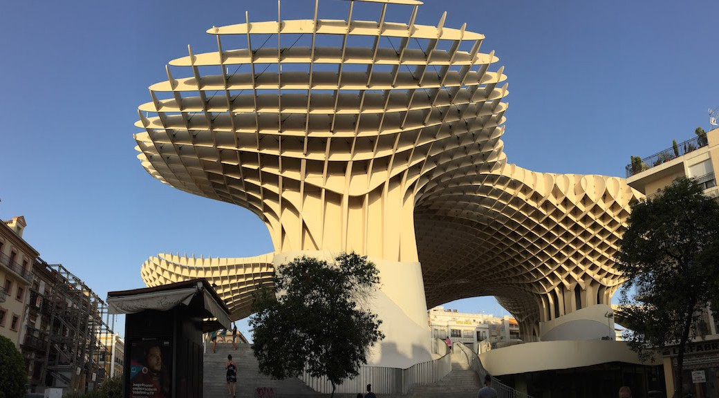 interesting structure in seville spain