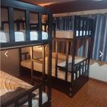 A hostel dormroom.