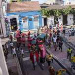 parade in cartagena colombia