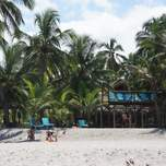 Our beach front resort on Costeno Beach