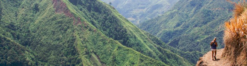 philippines trekking adventure tour