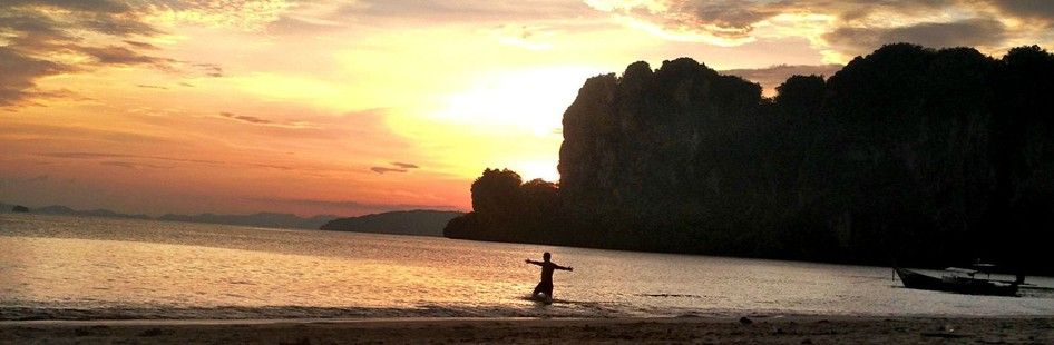 sunset thailand beautiful